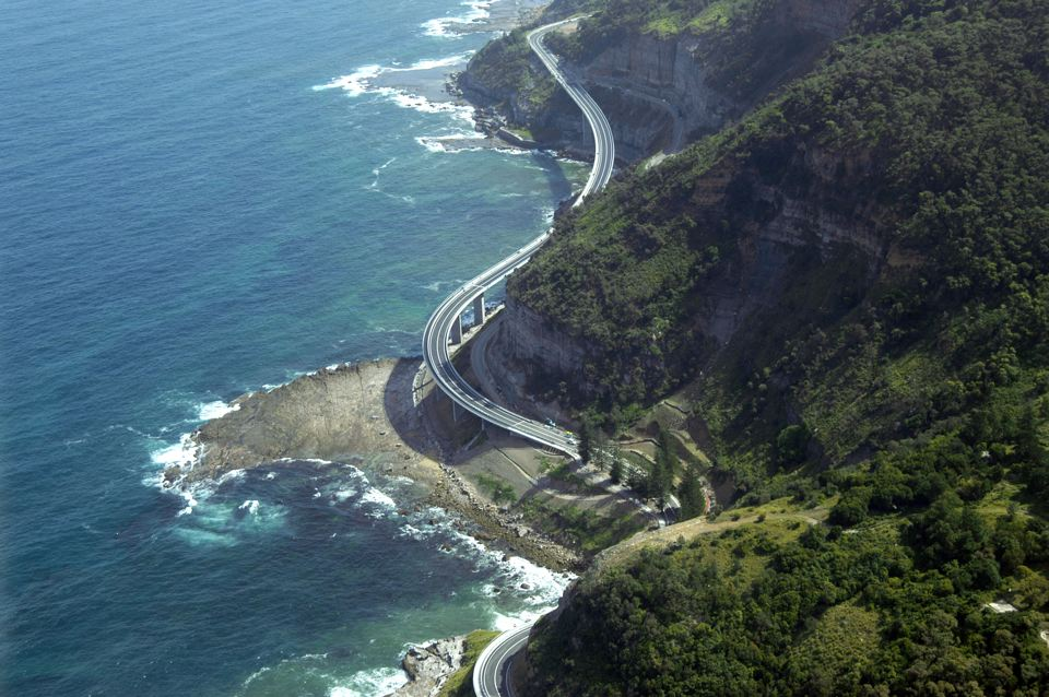 Sea Cliff Bridge, Grand Pacific Drive, Lawrence Hargrave Drive