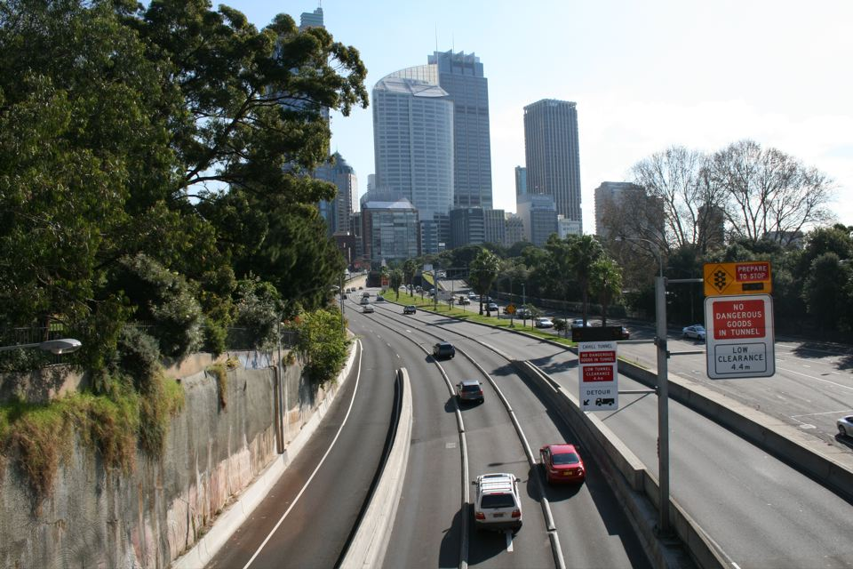 Cahill Expressway Overpass