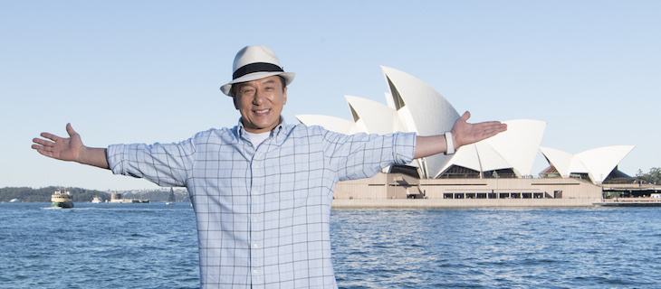 Jackie Chan's Bleeding Steel to be made in NSW, News