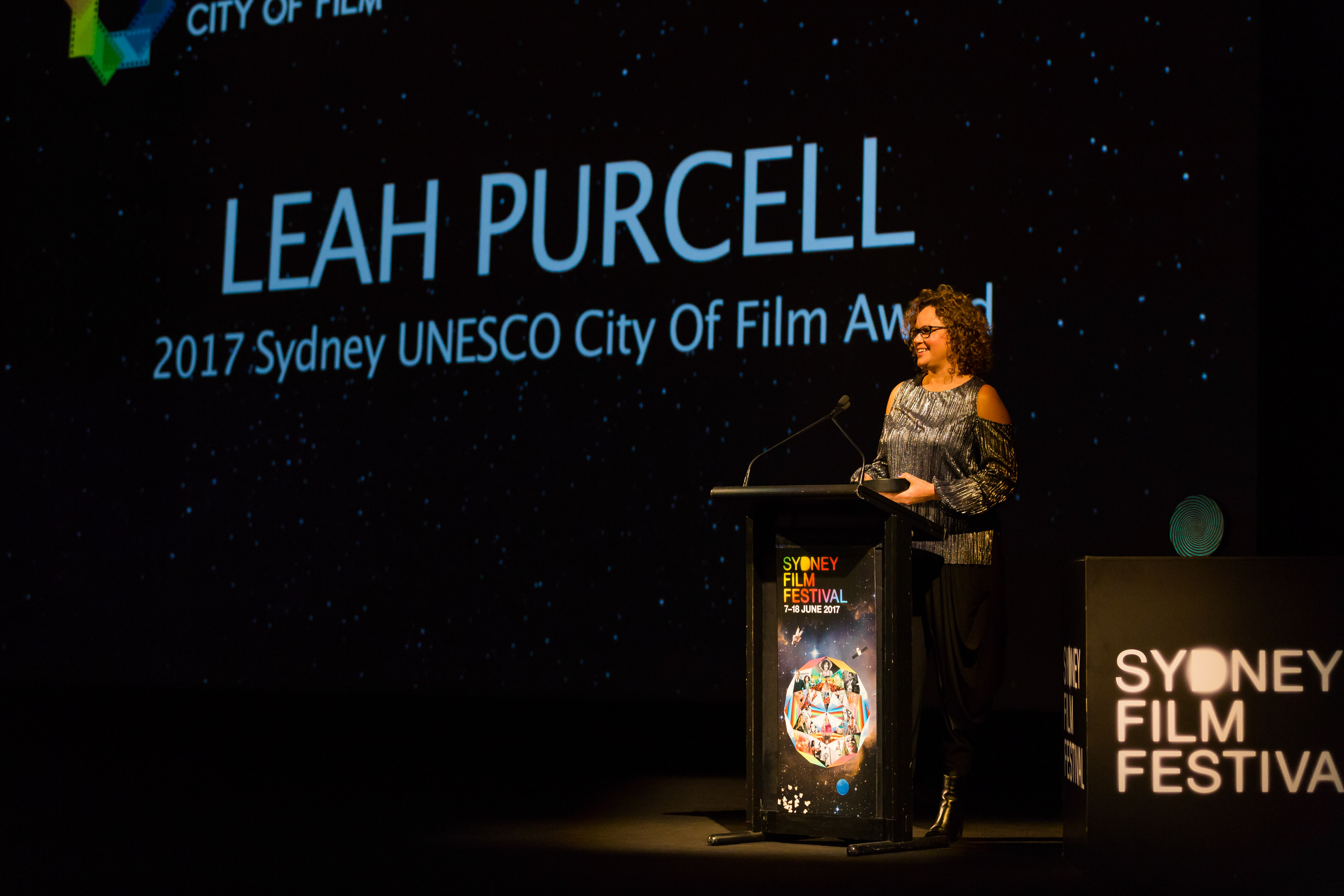 Leah Purcell awarded the 2017 Sydney UNESCO City of Film Award, News