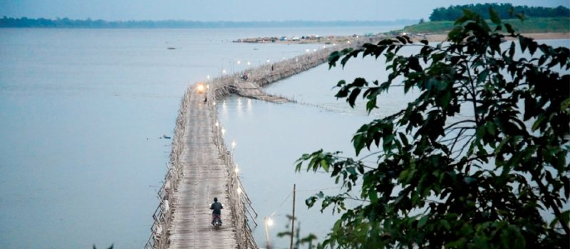 The Bamboo Bridge highlights the strong connection
