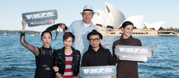 Jackie Chan's Bleeding Steel to be made in NSW