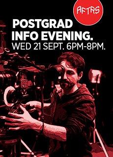 AFTRS  Postgraduate Information Evening