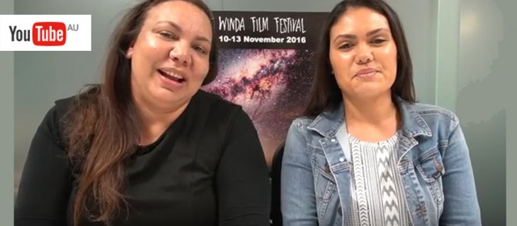 WATCH: Pauline Clague and Medika Thorpe talk about Winda Film Festival