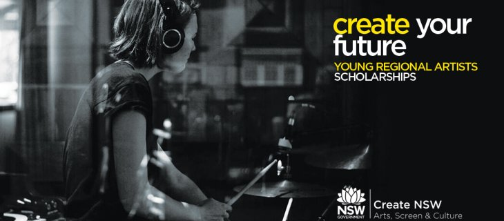 Young Regional Artist Scholarships – apply now