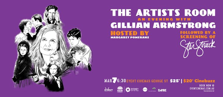 The Artist's Room hosts Gillian Armstrong