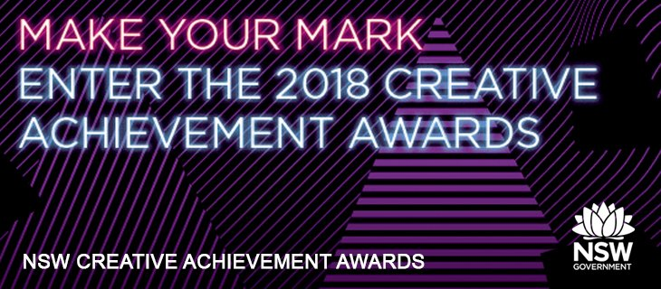 Nominations are now open for the 2018 Creative Achievement Awards 2018