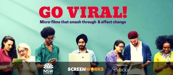 Create NSW, Screenworks and Co-Curious team to help emerging NSW filmmakers Go Viral!