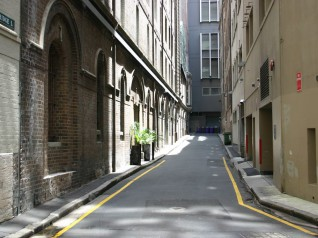 Sydney CBD - Bridge Lane